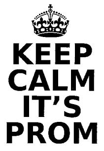 Prom Letter & Application Form