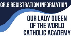 Grade 8 Registration